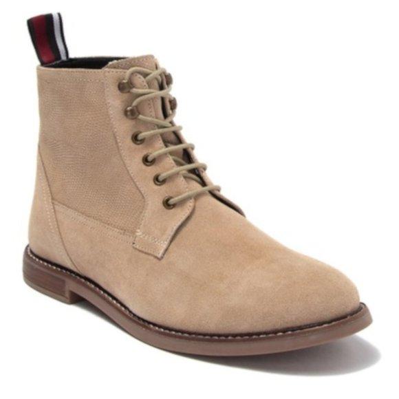 Ben Sherman Brent Suede Plain Toe Boot